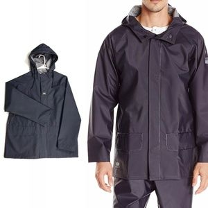 Helly Hansen Mens Mandal Rain Jacket Small Navy